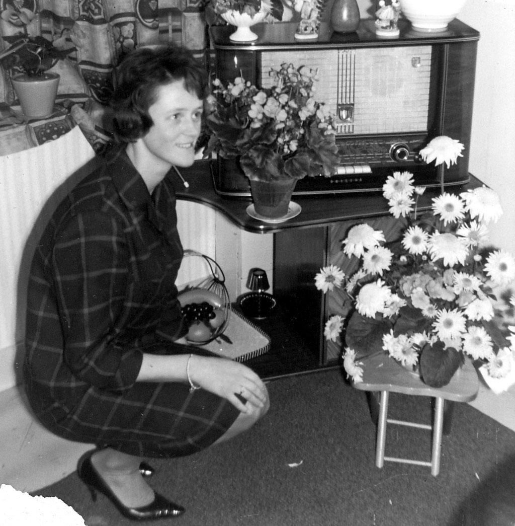 Bloemenzee na verloving 1962