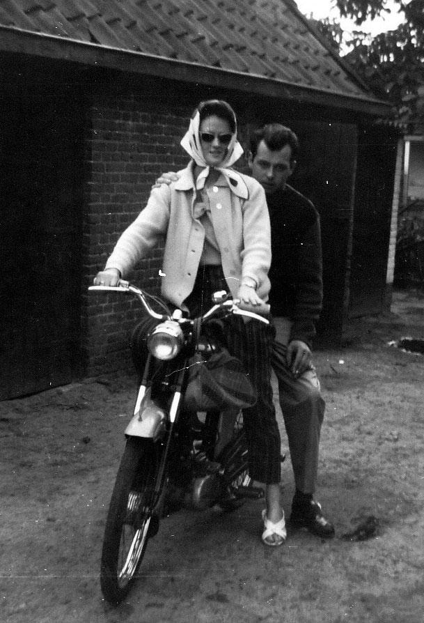 Samen op de brommer 1963