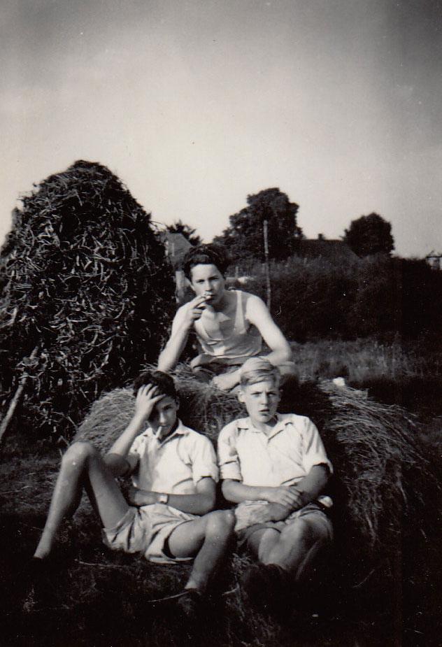 Vrienden rond 1950