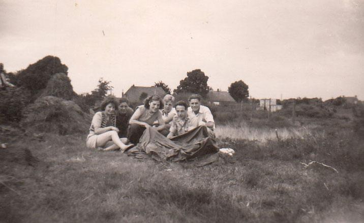 Zomergidsenkamp Langeboom 1948
