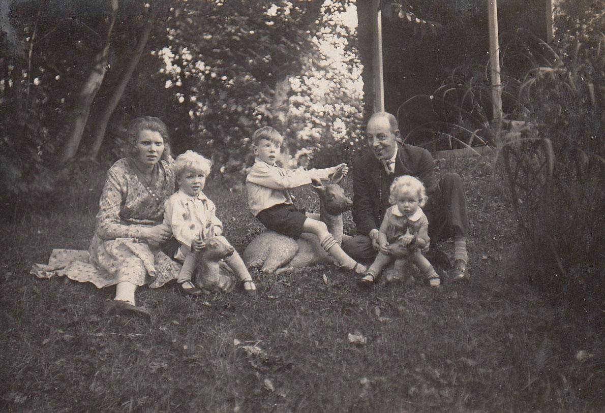 Zomerse zondag rond 1930